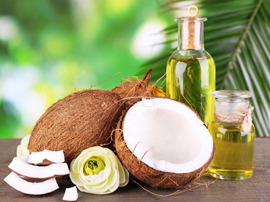 cách làm đẹp sau sinh với dầu dừa