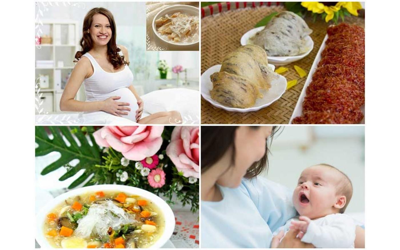 Cần đặc biệt lưu ý chế độ dinh dưỡng cho bà bầu trong tháng thứ 5