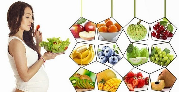 Dinh dưỡng cho mẹ bầu khi mang thai tháng thứ tư