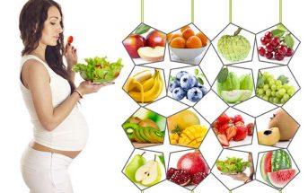 chế độ dinh dưỡng cho bà bầu khoa học