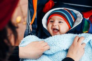cần chú ý giữ ấm cho trẻ sơ sinh vào mùa đông