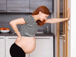 nhân biết có thai khi thấy mỏi và đau lưng thường xuyên