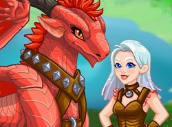 Cùng chăm sóc rồng với game Girls Fix It: Magical Creatures