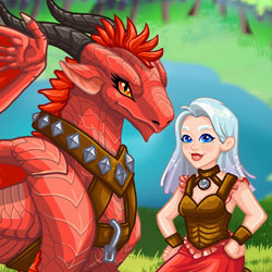 Cùng chăm sóc rồng với game Girls Fix It: Magical Creatures