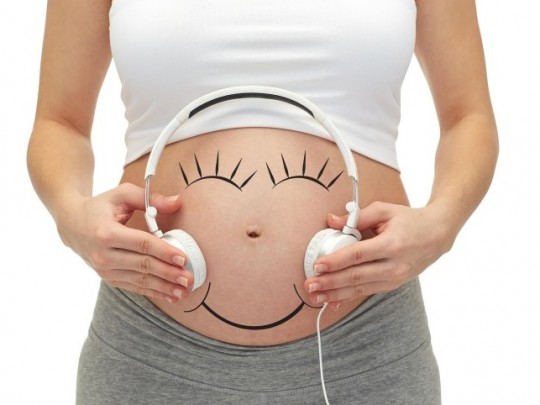 Tinh thần của nhạc cổ điển dành cho bà bầu không những giúp con phát triển trí não tốt