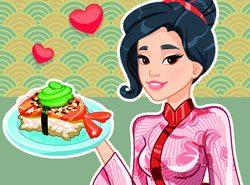 Cùng Yukiko's quản lý của hàng Sushi