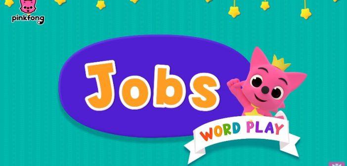 Bài hát tiếng Anh nói về công việc dành cho trẻ