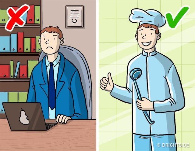 """Đừng nói câu """"con cần có công việc ổn định"""""""