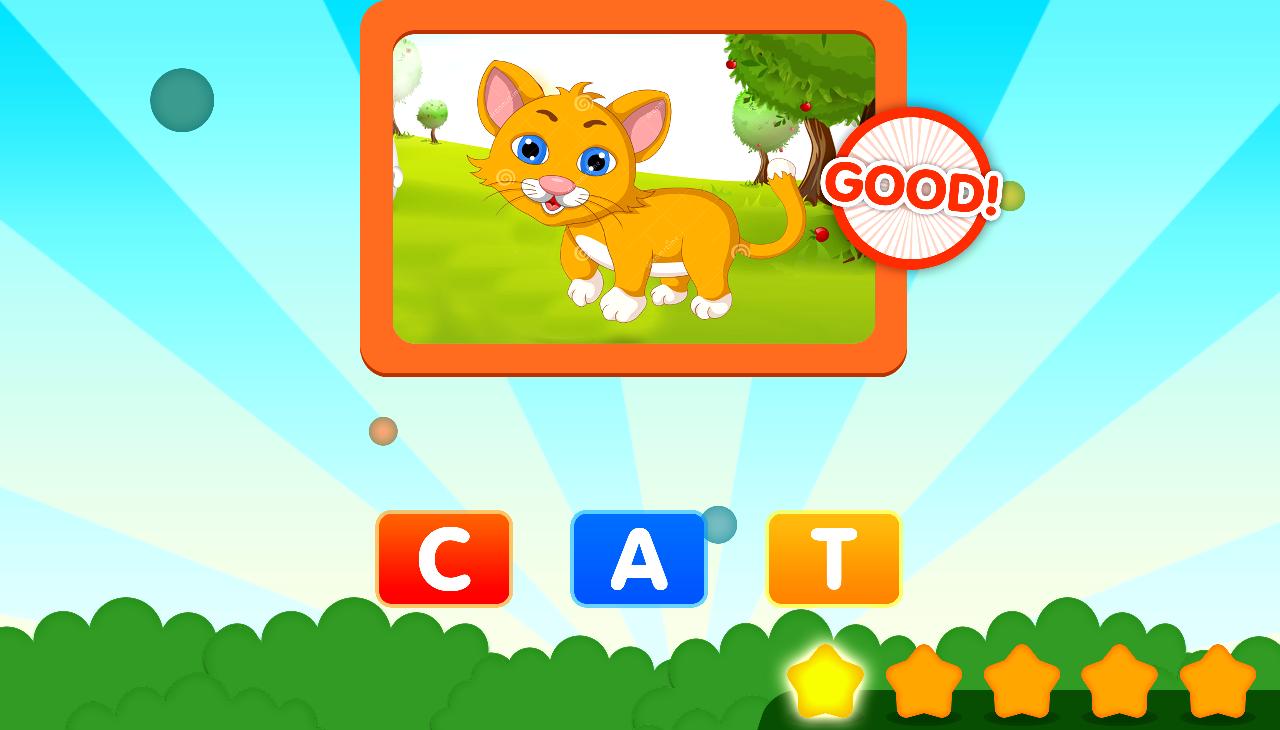 Các bé 4 tuổi luôn thích thú các games tiếng Anh vui nhộn, bắt mắt và có tính tương tác cao