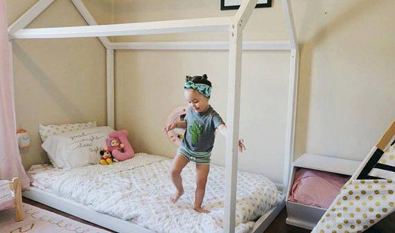 Nuôi dạy con theo phương pháp Montessori bắt đầu từ phòng ngủ