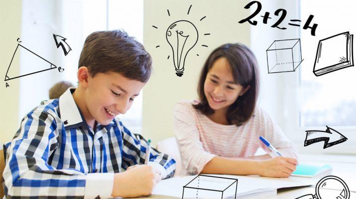Toán tư duy Hoa Kỳ giúp trẻ yêu thích việc học toán