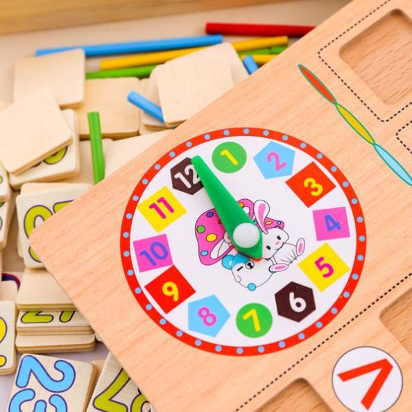 Học cách xem đồng hồ là một ứng dụng thực hành dễ hiểu trong việc ghi nhớ mặt số và thứ tự số