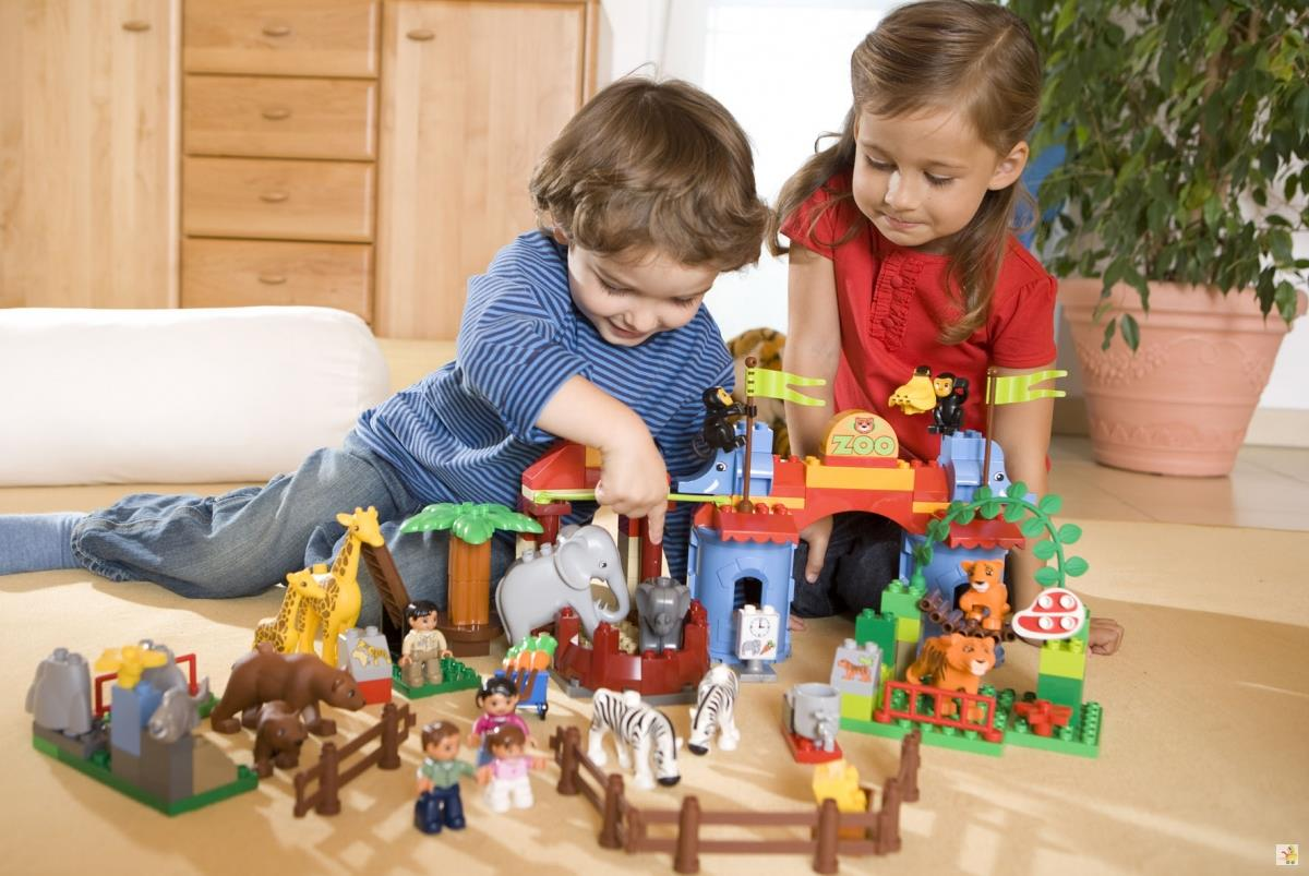 Những trò chơi xếp hình giúp trẻ tư duy logic, phát huy trí tưởng tượng