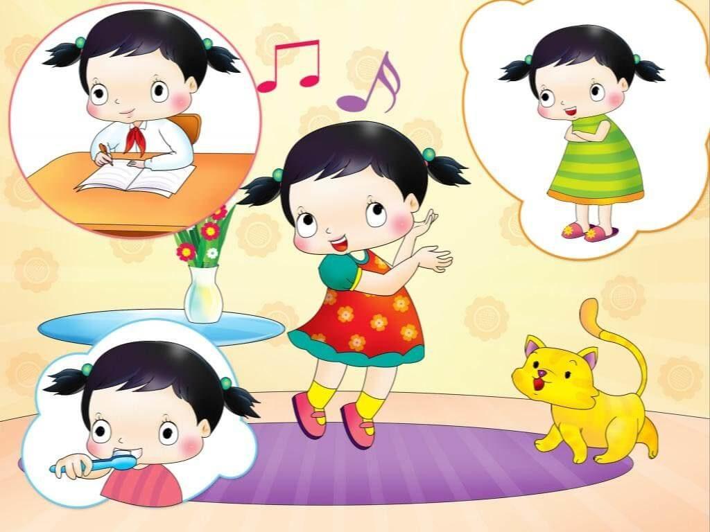 Cho trẻ nghe những bài hát về động vật sẽ giúp trẻ nâng cao vốn từ vựng tốt hơn