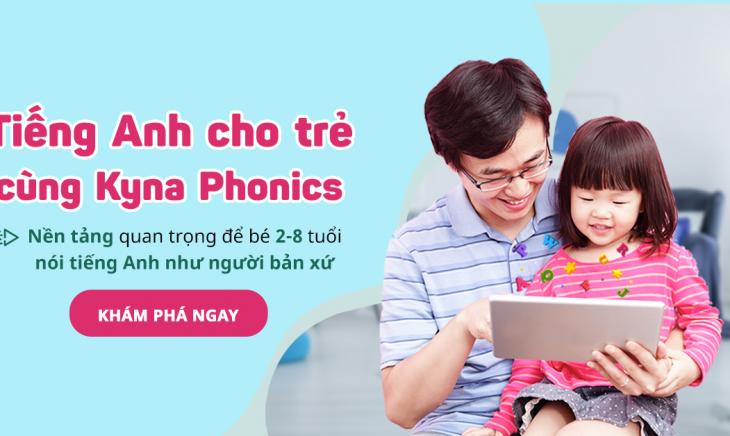 Kyna for Kids là trang web trực tuyến giúp trẻ có thể học tiếng anh dễ dàng tại nhà