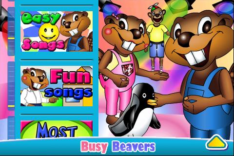 Busy Beavers cung cấp rất nhiều video tiếng anh sinh động và thú vị