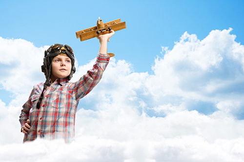 Ước mơ nghề nghiệp hình thành khi trẻ 6 tuổi thích thú với một nhân vật