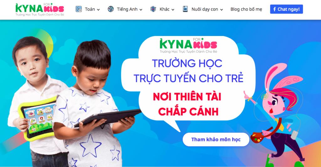 Học tiếng anh trên các trang online giúp trẻ chủ động việc học mọi nơi, mọi lúc