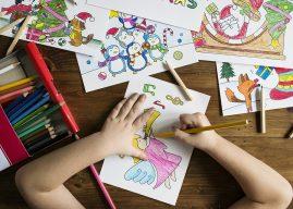 Dạy bé 4 tuổi học vẽ kích thích trí sáng tạo
