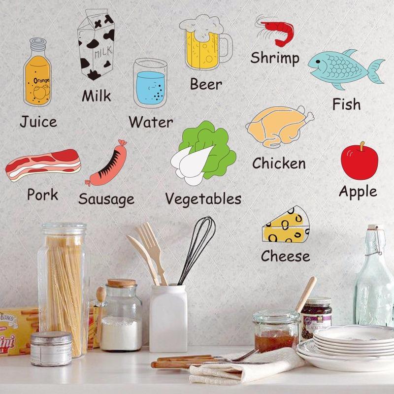 Sử dụng các đồ vật trực quan có trong nhà để giúp bé thực hành học từ vựng tiếng anh