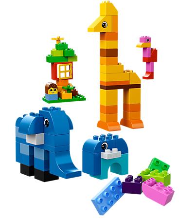 Lego giúp bé phát huy trí tưởng tượng, tư duy hình khối và óc sáng tạo