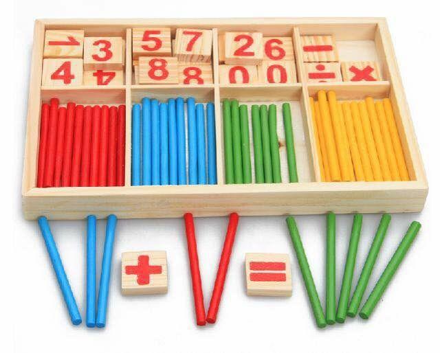 Que tính giúp bé phát triển kỹ năng định lượng và làm quen với con số