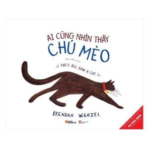 Sách song ngữ Ai cũng nhìn thấy chú mèo làm tăng khả năng sáng tạo và trí tưởng tượng của trẻ