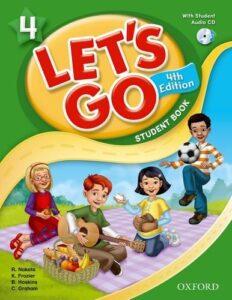 Let's go level 4 là cuốn sách có chủ đề gần gũi với cuộc sống hàng ngày của trẻ