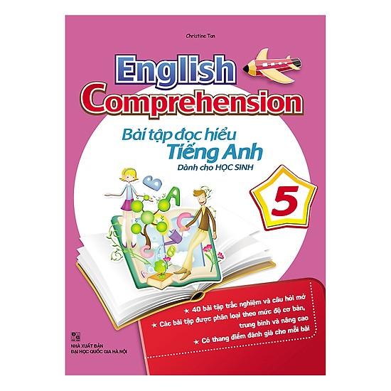 Đây là cuốn sách giúp trẻ luyện tập tốt kỹ năng đọc hiểu tiếng anh
