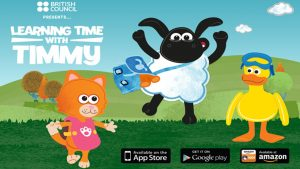 Phần mềm học tiếng anh lớp 1 miễn phí Learning Time with Timmy
