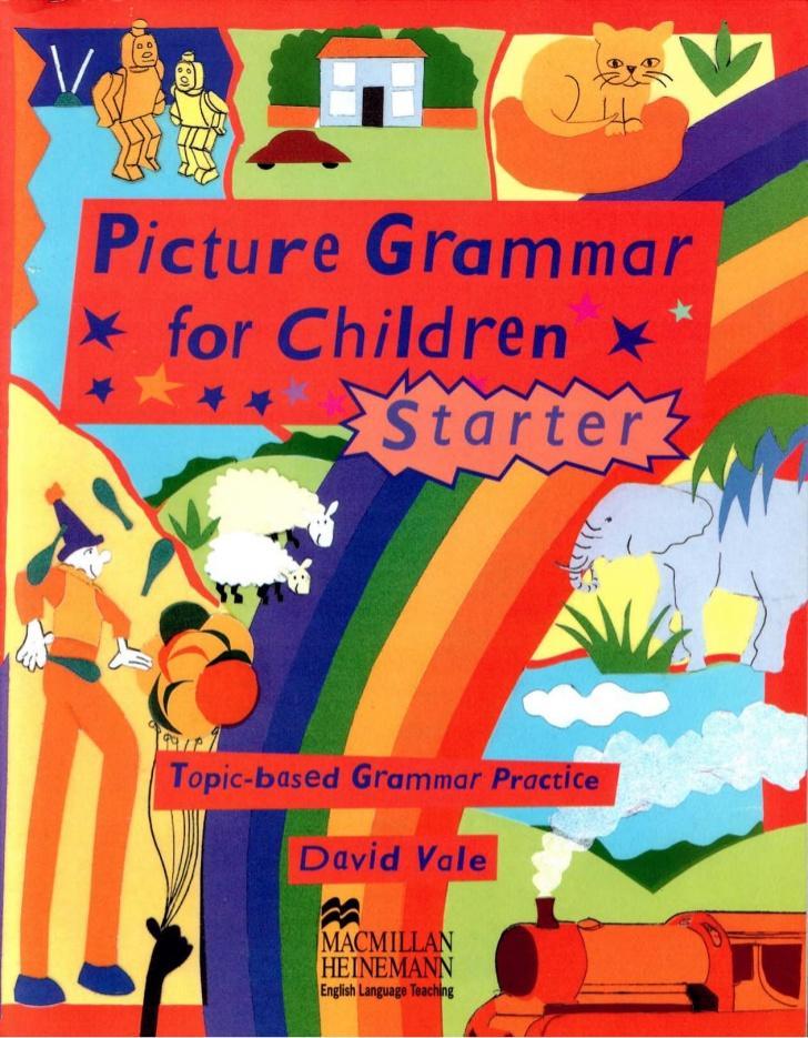 Cuốn sách giúp kích thích tư duy học ngữ pháp tiếng Anh cho trẻ