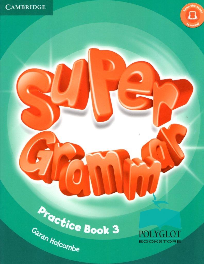 Sách dạy ngữ pháp tiếng Anh cho trẻ em Super Grammar có nhiều quyển cho từng lớp học