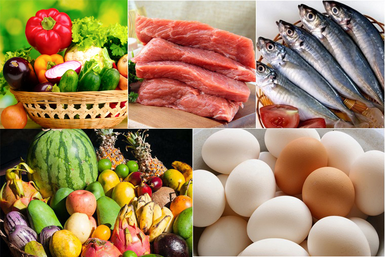 Cần thay đổi thực phẩm thường xuyên nhằm tránh cảm giác chán ăn, biếng ăn ở trẻ