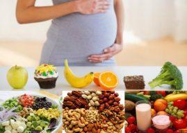 Chế độ dinh dưỡng cho bà bầu khi mang theo từng tuổi thai