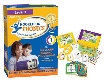 Hook on phonics bao gồm cả ebook, DVD, Flashcard