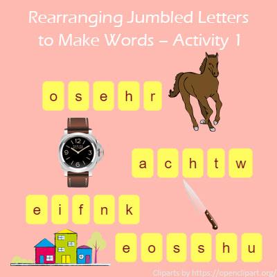Đây là trò chơi giúp bé đồng thời nhớ mặt chữ và nghĩa của từ