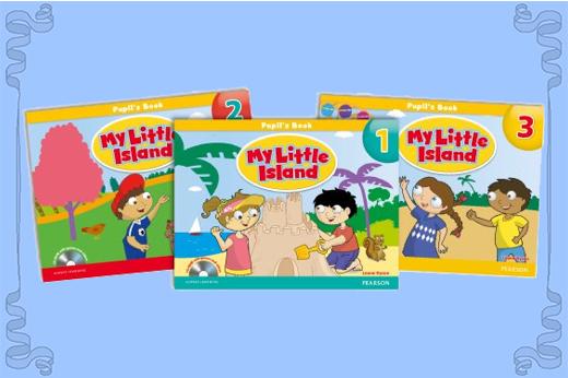 My Little Island là bộ sách lý tưởng cho trẻ mầm non