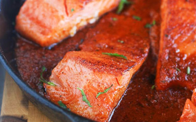 Giá trị dinh dưỡng trong cá hồi rất cao