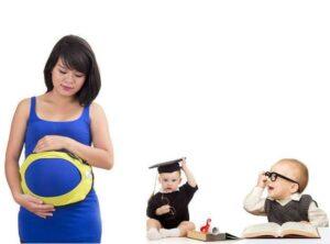 Tinh thần thoải mái, tích cực trong thời gian mang thai giúp trẻ sinh ra thông minh, lanh lợi hơn