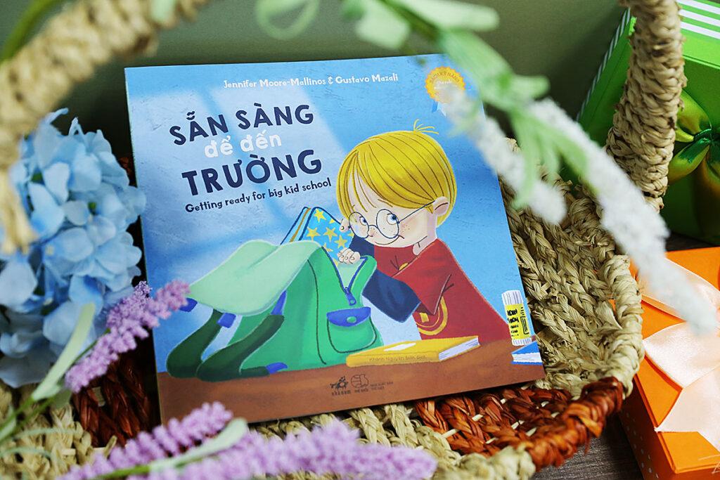 Sách kỹ năng sống cho trẻ em: Sẵn sàng đến trường