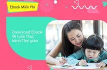 Download Ebook 40 tuần thực hành Thai giáo - 12 tháng thắp sáng thiên tài