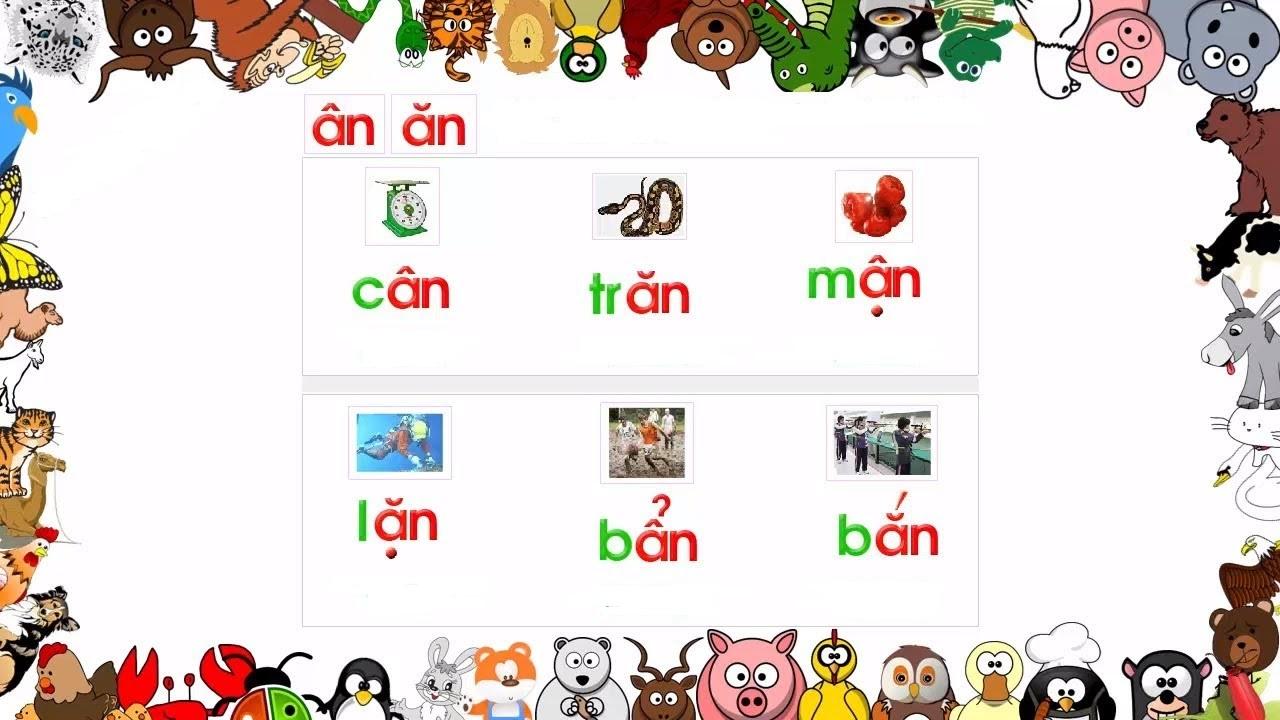 Trẻ cần phân biệt được phụ âm và vần trước khi học đánh vần