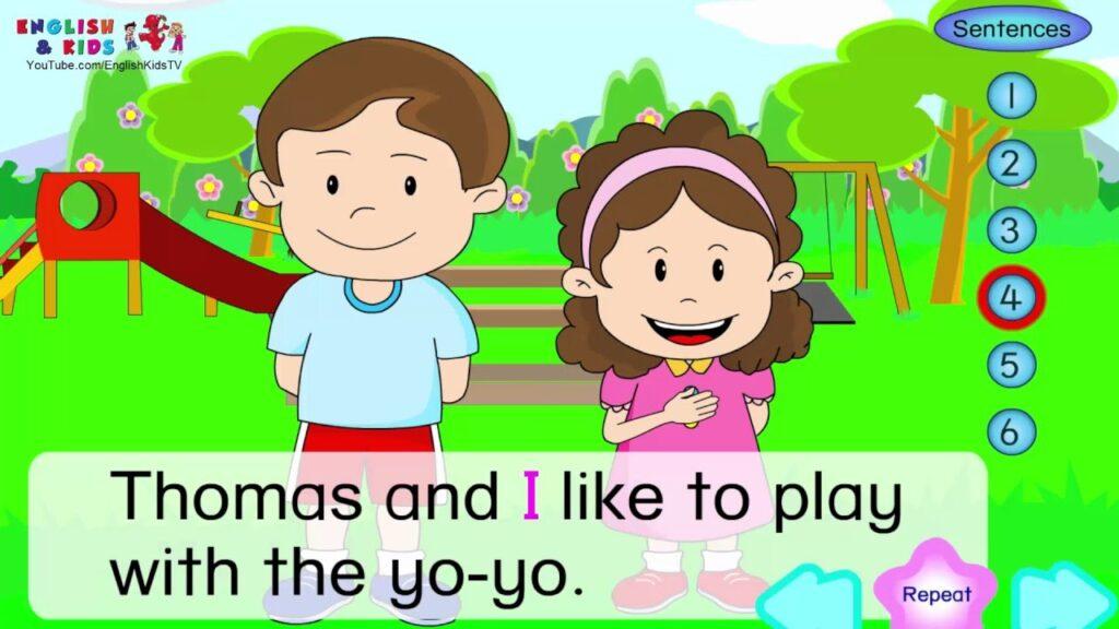 Phần mềm học tiếng anh cho bé English Conversation for Kids