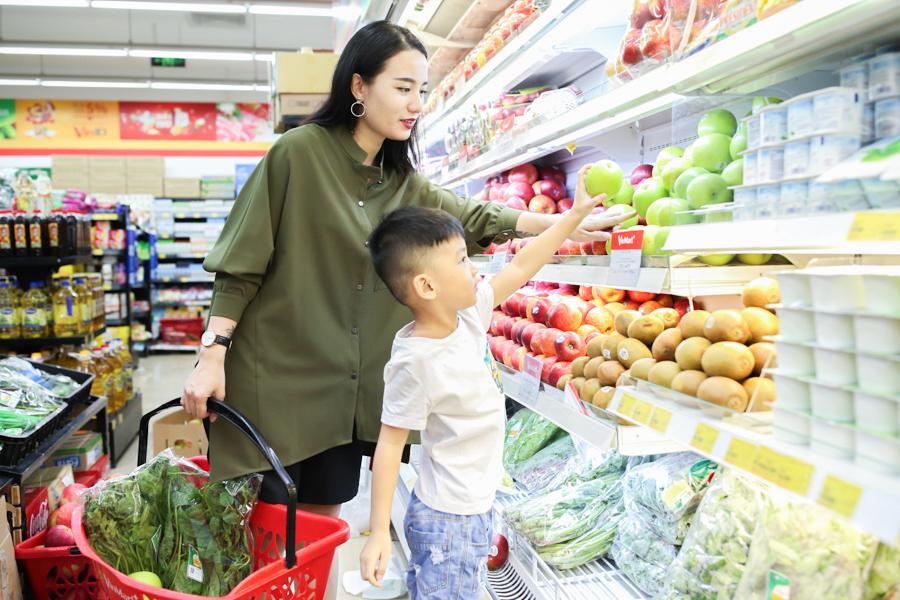 Dạy bé đếm số món đồ cần mua khi đi siêu thị