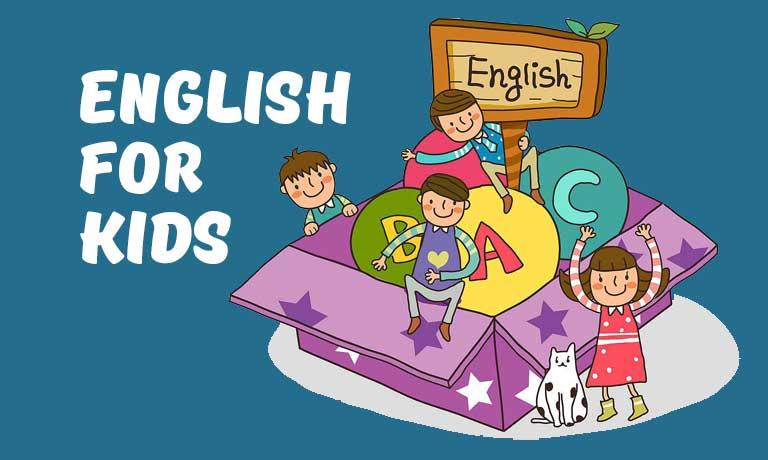 English for kids giúp bé ghi nhớ từ vựng một cách tự nhiên, vui nhộn