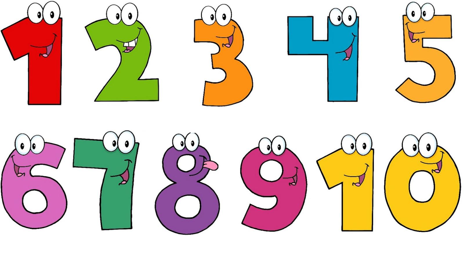 Bé cần học thuộc dãy số từ 1 đến 10 và đọc theo chiều xuôi - ngược