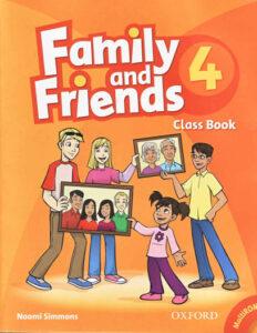 Cuốn sách học tiếng anh cho bé 4 tuổi Family and Friends Level 4