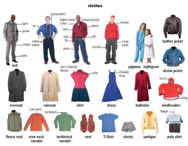 Chủ đề quần áo khá phù hợp với trẻ 5 tuổi vì phụ huynh có thể đưa quần áo thật minh hoạ hàng ngày