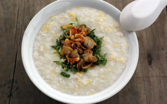 Cháo ngao đậu xanh là 1 trong những món ăn rất giàu kẽm