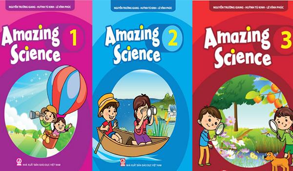 Sách tiếng anh cho bé 6 tuổi Amazing Science